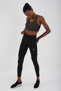 Tommy Life Toptan Haki Kadın Çapraz Sırt Detaylı Slim Fit U Yaka Spor Büstiyer - 97121 - Thumbnail
