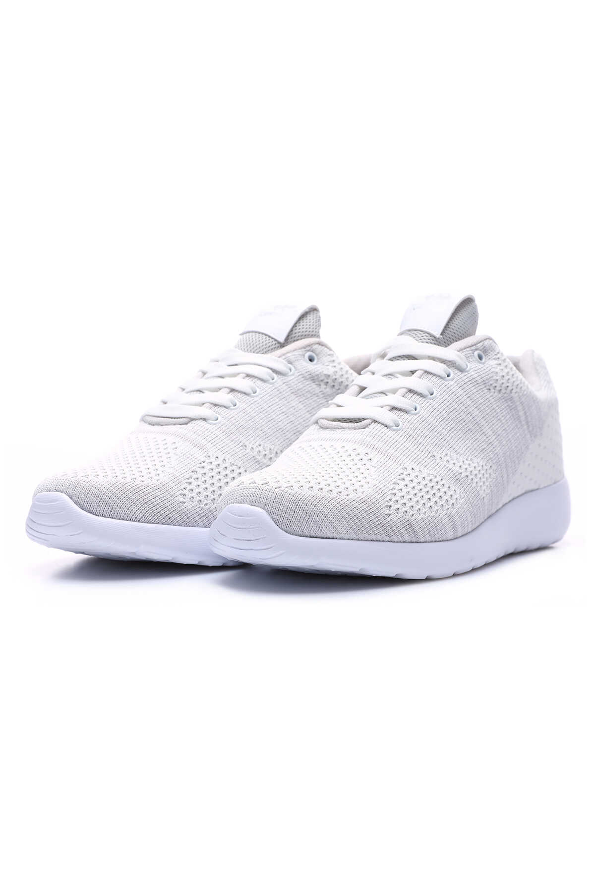 Tommy Life Toptan Beyaz Erkek File Detaylı Bağcıklı Spor Ayakkabı - 89047_1