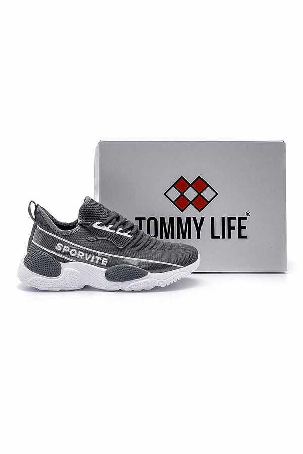 Tommy Life Toptan Füme Erkek Spor Ayakkabı