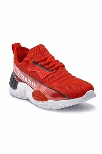 TommyLife - Tommy Life Toptan Kırmızı Erkek Spor Ayakkabı