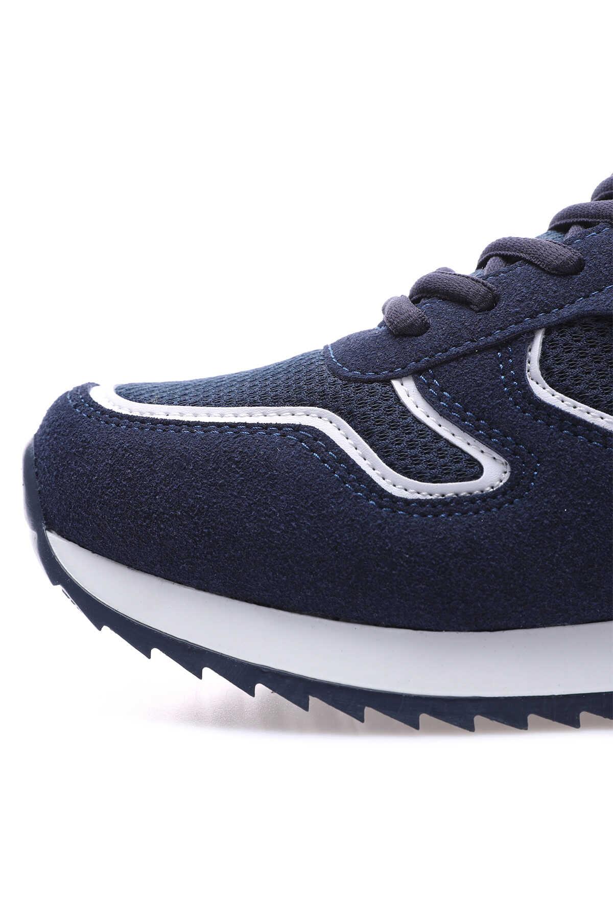 Tommy Life Toptan Lacivert Erkek Bağcıklı Suni Deri Spor Ayakkabı - 89051_1