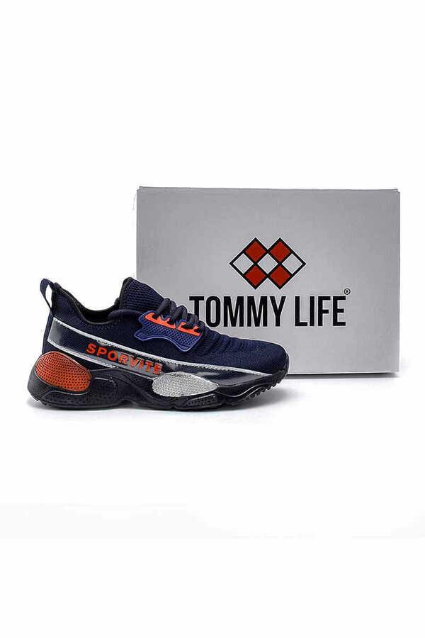 Tommy Life Toptan Lacivert Erkek Spor Ayakkabı