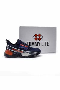 Tommy Life Toptan Lacivert Erkek Spor Ayakkabı - Thumbnail