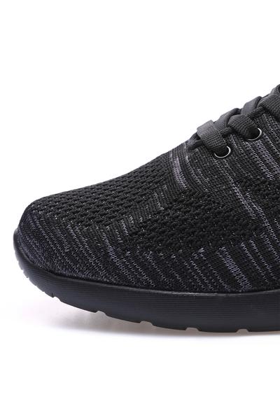Tommy Life Toptan Siyah Erkek File Detaylı Bağcıklı Spor Ayakkabı - 89047_1 - Thumbnail