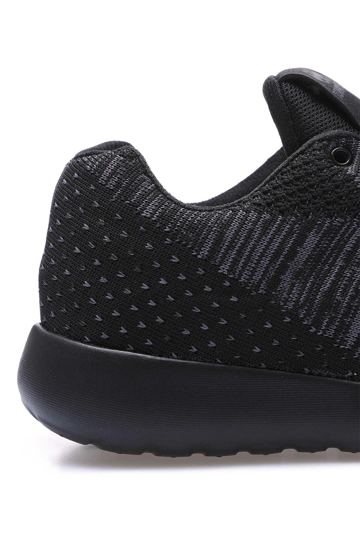 Tommy Life Toptan Siyah Erkek File Detaylı Bağcıklı Spor Ayakkabı - 89047_1
